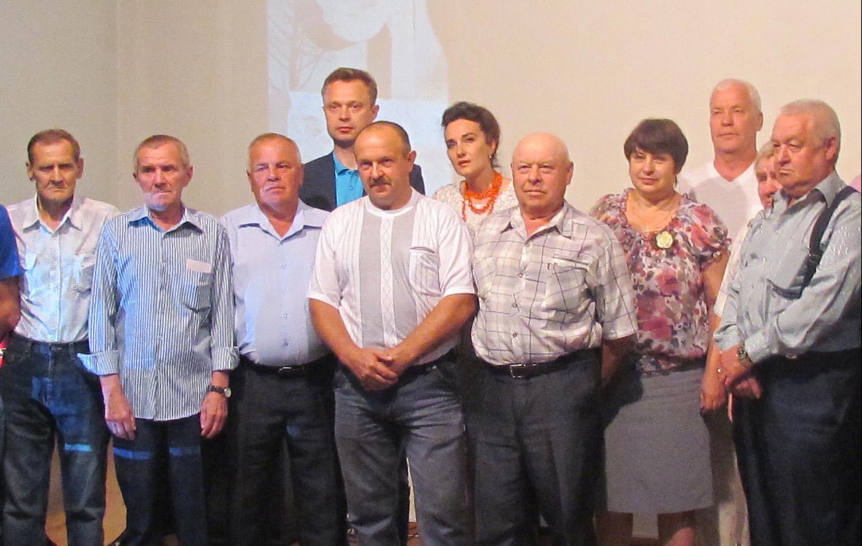 Герои-чернобыльцы получили медали