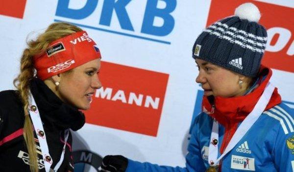 Чешка Соукалова выиграла спринт наамериканском этапе Кубка мира побиатлону