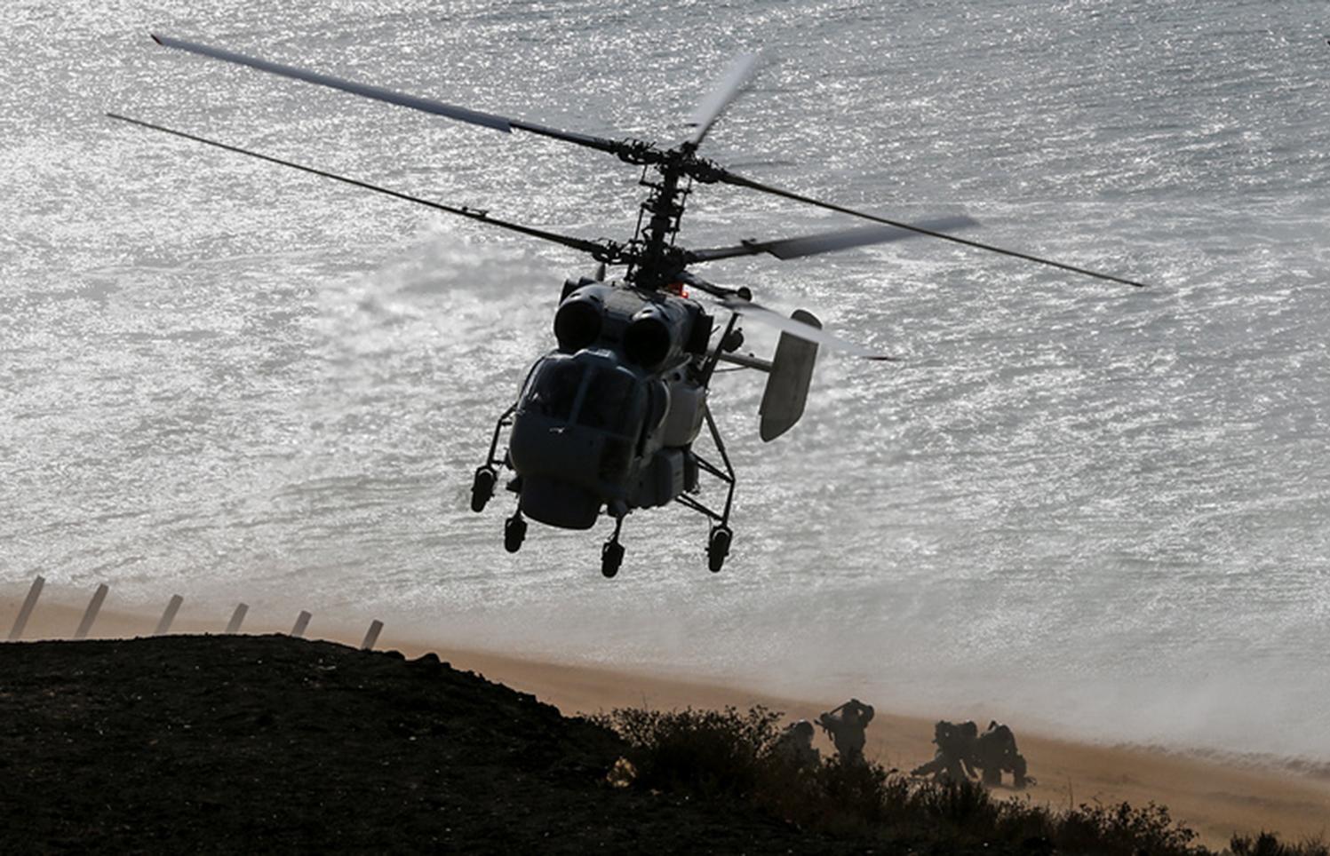 ВМФ Российской Федерации усилился модернизированными вертолётами Ка-27