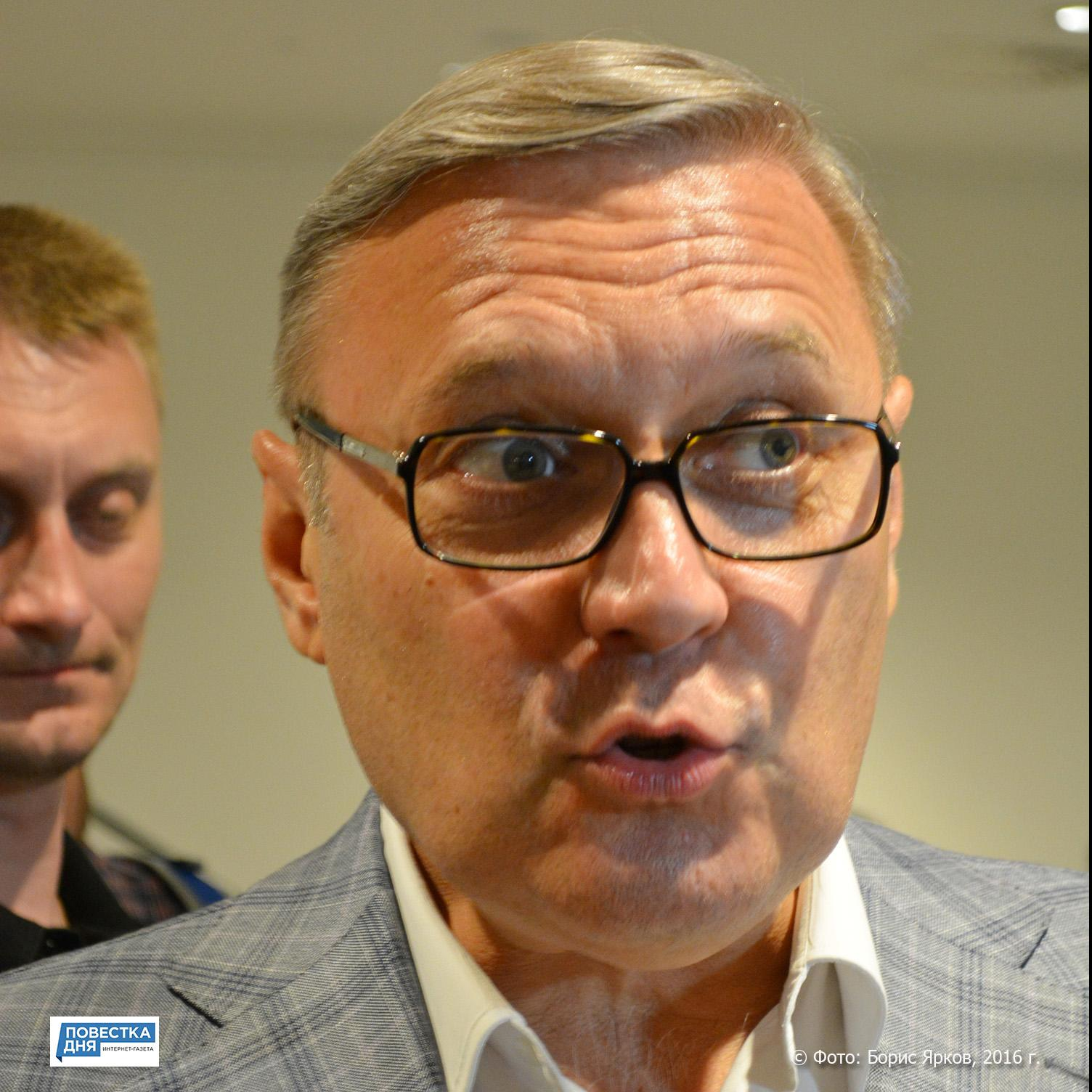 Наближайшем съезде «Парнас» рассмотрит вопрос оботставке Касьянова