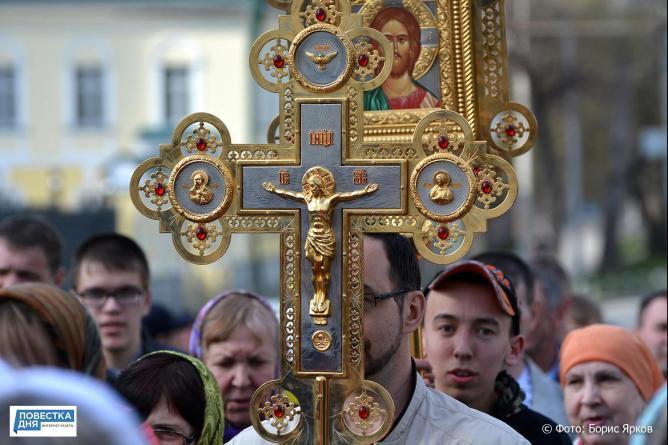 Около 700 км пройдут участники крестного хода из Тобольска в Екатеринбург