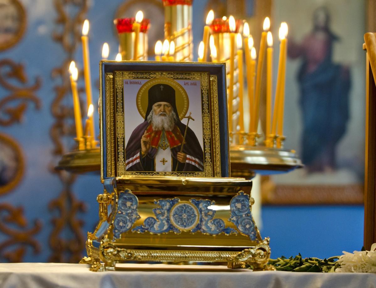 Всамом начале декабря вЕкатеринбург изКрыма привезут мощи святителя Луки