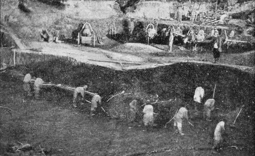 Фото: Уральский прииск. Т.Хитрово, 1905