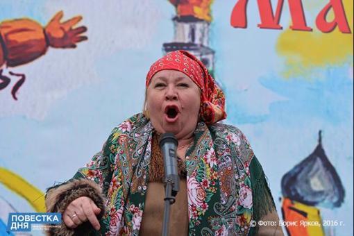 Широкая Масленица в Екатеринбурге