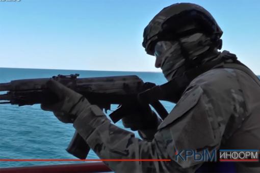 Спецподразделения ФСБ провели крупные учения в Крыму