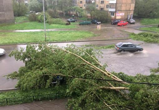 Последствия урагана в Нижнем Тагиле