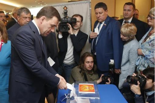 Куйвашев – кандидат в губернаторы Свердловской области от единороссов