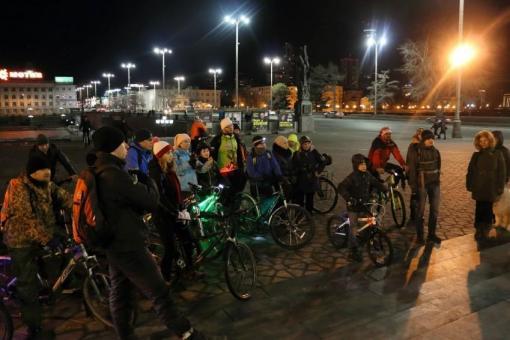 В честь «Часа Земли» по Екатеринбургу проедут велосипедисты