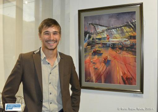 В екатеринбургской галерее «ПоЛе» открыта персональная выставка молодого автора Романа Баянова «Инстаграм архитектора»
