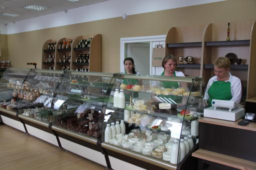 В Сухом Логу появился магазин фермерских продуктов