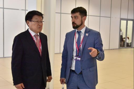 Партнер ИННОПРОМА-2018 и КРСУ объединили усилия по развитию бизнес-контактов