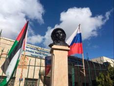 В Вифлееме установили памятник Юрию Гагарину