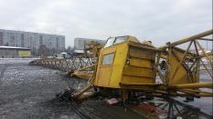 На екатеринбургской стройке разбились трое рабочих