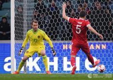 Сборная России в добавленное время сравняла счет с бельгийцами