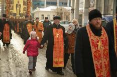 В День святой Екатерины общегородской крестный ход собрал свыше 3 тыс. участников