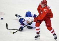 Российские хоккеисты вышли в полуфинал Олимпиады