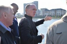 Дубровский проверил подготовку Челябинска к саммитам ШОС и БРИКС