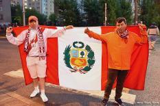 Перуанцы признаны лучшими болельщиками ЧМ-2018 в России