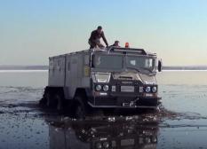Арктический вездеход разработанный на Урале успешно прошел испытания