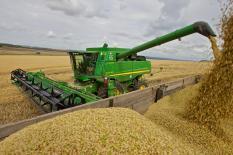 На Среднем Урале собрали 75% урожая зерновых культур