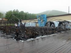 Увелилось число погибших детей при пожаре в лагере в Хабаровском крае