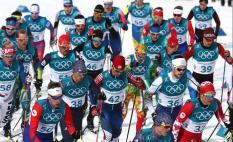 Российские лыжники завоевали серебро и бронзу Олимпиады