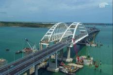Крымский мост появился на картах Google