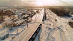 В «Титановой долине» заканчиваются работы по устройству земляного полотна для грузовой железной дороги