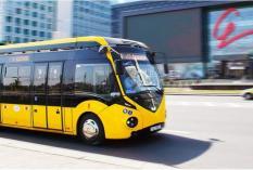 На улицах уральской столицы появился белорусский электробус с ИННОПРОМа
