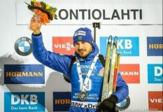 Шипулин принес сборной России первую победу на Кубке мира по биатлону