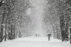 Снегопады на Среднем Урале задержатся до мая
