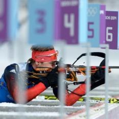 Сборная России стала второй в мужской эстафете на этапе Кубка мира по биатлону