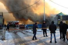 Пожар в Когалыме 27 октября