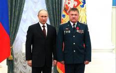Российский генерал-лейтенант Валерий Асапов в Кремле
