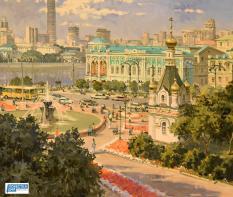 В резиденции свердловского губернатора представили «Три столицы» (фото)
