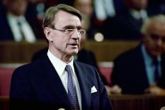 Бывший президент Финляндии Мауно Койвисто