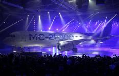 Новый российский пассажирский самолет МС-21−300