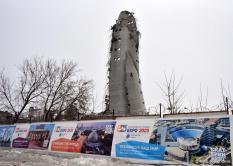 Остатки разрушенной телебашни в Екатеринбурге разберут за две недели (фото)