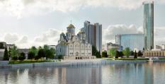 Свердловский Минстрой представил проект Храма святой Екатерины (фото)