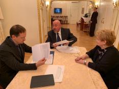 Мединский поддержал реализацию крупных культурных проектов в уральской столице