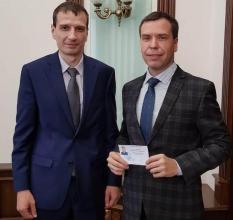 Избирком передал вакантный мандат в гордуме Екатеринбурга новому депутату