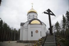 Епархиальную комиссию не пустили в Среднеуральский монастырь, где находится Сергий