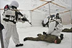 В рамках учений военная полиция в Екатеринбурге отразила нападение боевиков (фото)