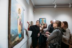 В Екатеринбурге впервые открылась выставка, посвященная святой Екатерине