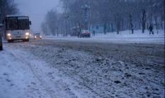 В Среднеуральске из-за плохих дорог ограничили движение общественного транспорта