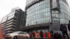 Из «Высоцкого» эвакуировали почти 3 тыс. человек