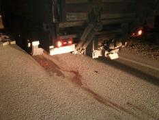 На трассе Екатеринбург-Курган погиб пешеход-нарушитель
