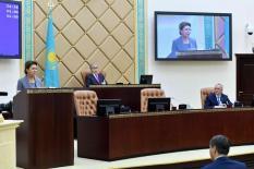 Старшая дочь Назарбаева стала спикером Сената Казахстана