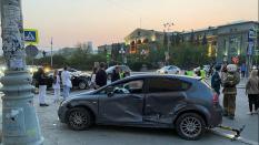 Семь человек пострадали в результате ДТП в центре уральской столицы