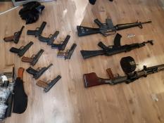 На Урале ФСБ задержала группу торговцев оружием (фото)